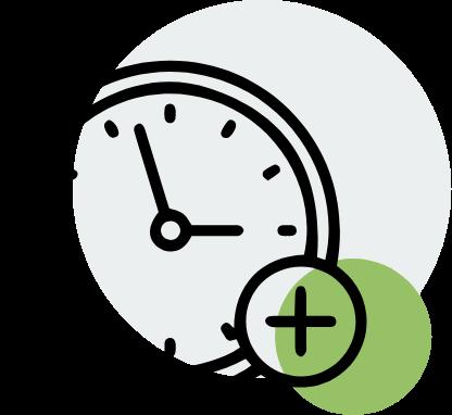 Grafik Arbeitszeit & Ruhezeit